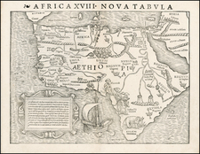 Africa and Africa Map By Sebastian Munster