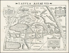 Russia, India, Central Asia & Caucasus and Russia in Asia Map By Sebastian Munster