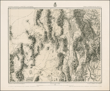 Southwest and Rocky Mountains Map By George M. Wheeler