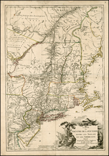 New England and Mid-Atlantic Map By Esnauts & Rapilly