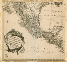 Mexico and Central America Map By Leonard Von Euler