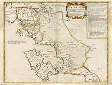 Greece and Balearic Islands Map By Philippe de la Rue