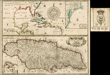 Mid-Atlantic, Florida, Southeast and Caribbean Map By George Willdey