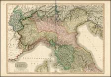Italy Map By John Pinkerton