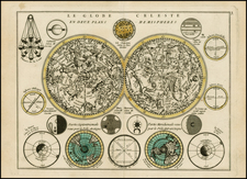 Celestial Maps Map By George Louis Le Rouge