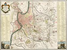 Italy Map By Leonardo Bufalino / Giovanni Battista Nolli