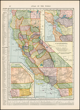California Map By Hammond & Co.