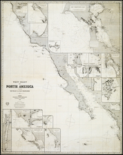 California Map By James Imray & Son