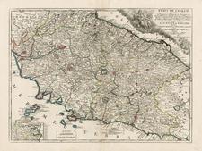 Italy Map By Jean-Baptiste Nolin