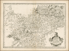 Switzerland Map By Pierre Mariette