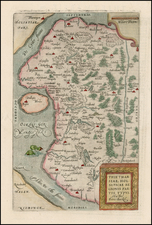 Germany and Baltic Countries Map By Abraham Ortelius