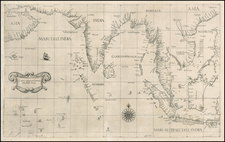 China, India, Southeast Asia, Other Islands, Middle East and East Africa Map By Robert Dudley