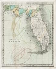 Florida Map By Jeremiah Greenleaf
