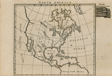 United States and North America Map By Anonymous
