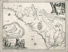 Southeast Map By John Ogilby - James Moxon