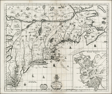 New England and Mid-Atlantic Map By Christopher Browne / Richard Daniel