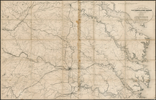 Southeast Map By U.S. Army Corps of Topographical Engineer
