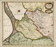 Poland Map By Willem Janszoon Blaeu