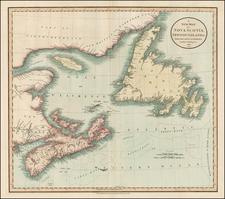 Canada Map By John Cary