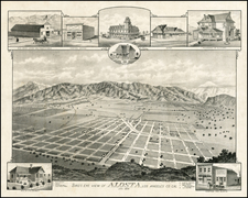 California Map By E.S. Moore