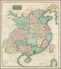 China Map By John Thomson