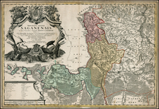 Poland Map By Homann Heirs