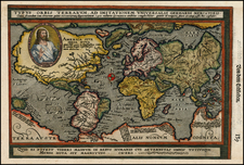 World and World Map By Matthias Quad / Johann Bussemachaer