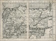 Turkey, Balearic Islands, Other Islands and Turkey & Asia Minor Map By Francesco Berlinghieri