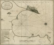 Gibraltar Map By Johannes Van Keulen