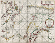 Poland, Baltic Countries and Scandinavia Map By Henrdick Doncker