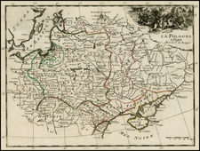 Poland Map By Georges Louis Le Rouge
