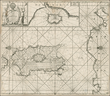 France, Italy and Balearic Islands Map By Johannes Van Keulen