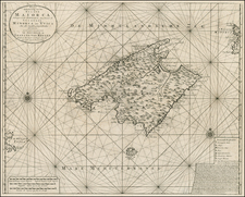 Spain and Balearic Islands Map By Johannes Van Keulen