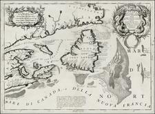 Canada Map By Vincenzo Maria Coronelli