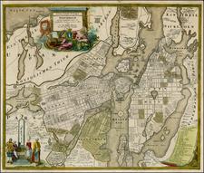 Scandinavia and Sweden Map By Johann Baptist Homann