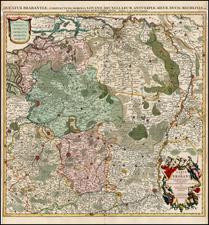 Map By Johannes Covens  &  Cornelis Mortier