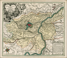 Northern Italy Map By Matthaus Seutter
