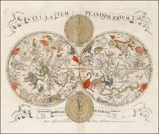 Celestial Maps Map By Johannes Van Keulen / Louis Vlasbloem