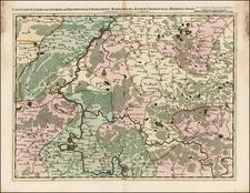 Map By Johannes Covens  &  Cornelis Mortier