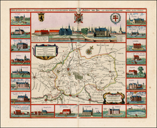 Map By Johannes et Cornelis Blaeu