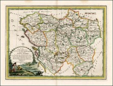 France Map By Giovanni Maria Cassini
