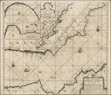 Spain and North Africa Map By Johannes Van Keulen