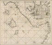 France, Spain, Mediterranean and Balearic Islands Map By Johannes Van Keulen