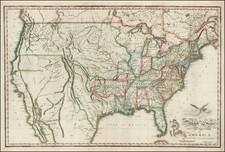 United States Map By Benjamin Warner
