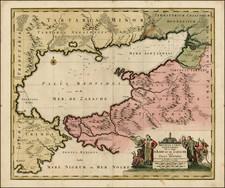 Ukraine Map By Nicolaes Visscher I