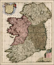 Ireland Map By Peter Schenk