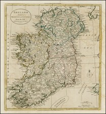 Ireland Map By William Guthrie