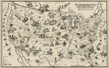 United States Map By Edward Gerstell McCandlish
