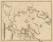 Polar Maps, Alaska, Canada, Russia and Scandinavia Map By William Bauman / The Graphic Co.