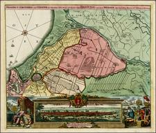 Germany, Poland and Balkans Map By Johann Baptist Homann